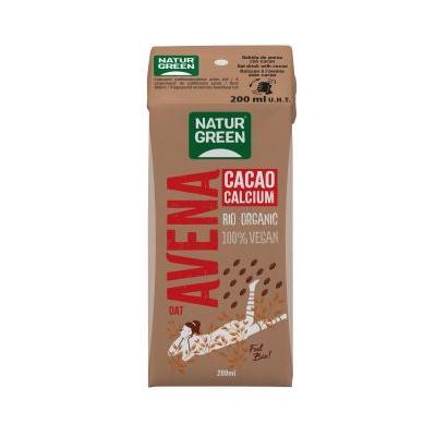 BATIDO NaturGreen Oat/Avena Cacao Calcium Bio 200 Ml