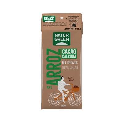 BATIDO NaturGreen  Cacao Calcium Bio 200 Ml